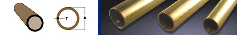 Round Brass Tubing