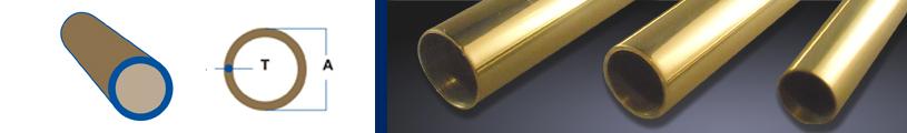 Round Bronze Tubing
