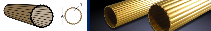 Round Reeded Tubing