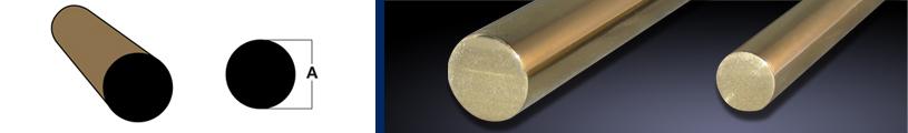 Round Brass Rod